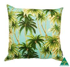 Genuine Tommy Bahama Tropical Palms Aqua Outdoor 45cm cushion cover