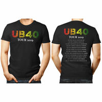 UB40 tour 2019 unisex T Shirt Black women men gift top music reggae UK Europe
