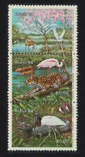 Brazil Birds Flamingos Malto Grosso Flood Plain 3v 1984 ** MNH SG#2083-2085