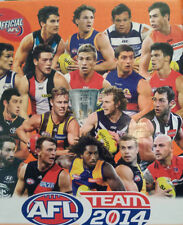 2014 AFL teamcoach CAPTAIN FOOTY PALS football cards - singles team coach $1.50