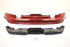 New OEM Ford Focus REAR Bumper Difuser air Dam Spoiler ZETEC 2012-2014 ruby red
