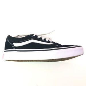 VANS Boys Old Skool Skate Shoes Multicolor 500714 Lace Up Low Top Sneakers 2.5 Y