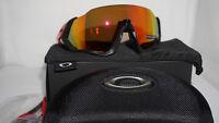e96a826161e3e Oakley New Sunglasses FLIGHT JACKET Redline Prizm Ruby Polarized OO9401-0837
