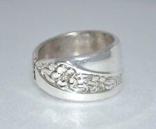 Starlight 1953 Vintage Silver Spoon Ring