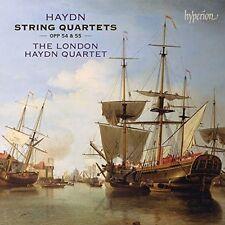 Haydn / London Haydn - Haydn: String Quartets Ops.54 And 55 [New CD]