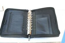 Franklin Covey  Zipper Portfolio Organizer Cover black Retractable Handles