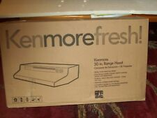 "Kenmore Fresh ~ 30"" Black Range Hood ~ Vented or Non Vented ~ 52059"