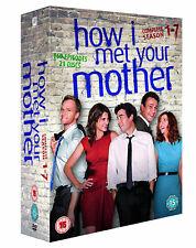 HOW I MET YOUR MOTHER COMPLETE SERIES 1-7 DVD SEASON 1 2 3 4 5 6 7 NEW UK R2