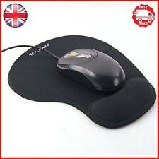 Realmaxâ ® Mouse Pad con polso resto supporto antiscivolo silicone Comfort Gel Topi