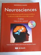 Neurosciences, CD-Rom inclus, de Dale Purves, De Boeck,  9782804147976