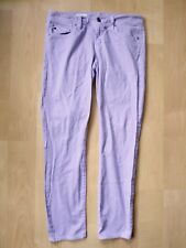 GAP 1969 lilac purple Orchid Frost stretch cotton Always Skinny jeans Sz 26