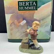 Goebel Mj Hummel club figurine germany box coa Bh118 fishing for trouble 301275