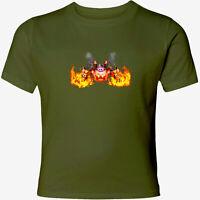 Nintendo Star Kirby Robobot Fire Men Women Video Game Crew Neck Unisex T-Shirt