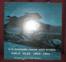 Rare K.O. KNUDSON Junior High School (Las Vegas) 1963-1964 Glee LP Vinyl Record