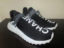 Adidas Human Race NMD Pharrell X Coco Chanel SZ 11 HU Black White PW CC D97921