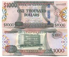 GUYANA 1000 DOLLARS ND(2019) P-NEW UNC