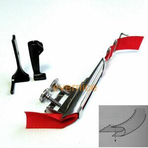 Binding Foot+Raw Edge Plain Tape Binder For Juki Dnu-241 1541 Lu-562 563 1508+