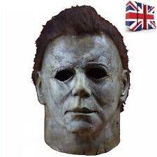 Deluxe Adult Horror Michael Myers Mask Latex Full Head Halloween Fancy Mask 2018