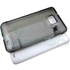 Custodia PERFECT FIT per Samsung Galaxy S2 i9100 e S2 Plus i9105 FUME' aderente