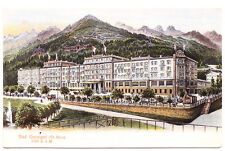 A Handsome Illustrated View of the Gurnigel Hotel, Bad Gurnigel, Switzerland
