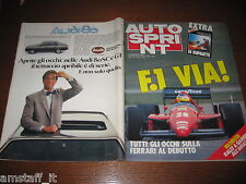 AUTOSPRINT 1986/12=GUIDA CAMPIONATO F.1=FRANK WILLIAMS=PAOLO BARILLA=