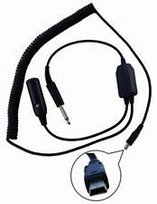 Pilot PA80GV Garmin Virb Video Recorder Aviation Headset Audio Adaptor