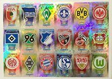 Match Attax 2015/2016 Bundesliga_Clubkarte/O-Trio/Viererkette/Taktik_5 Karten