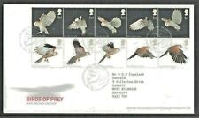 GB Royal Mail Birds of Prey 10 x 1st Class First Day Cover Tallents House 2003