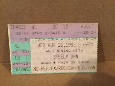 Steely Dan Concert Ticket Stub 8-25-1993