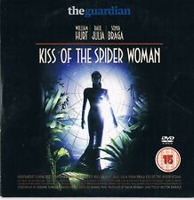 Kiss of the Spider Woman (1985)  -  William Hurt, Raul Julia -  DVD N/Paper