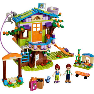 Lego Friends 41335 Mia's Tree House 100% complete, instructions, Labelled Box