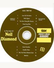 SDM KARAOKE CDG   NEIL DIAMOND    16  MULTIPLEX  8+8    VOCAL/INSTR