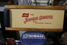 JEEPERS CREEPER Automotive Mechanics  Vintage Wooden Board
