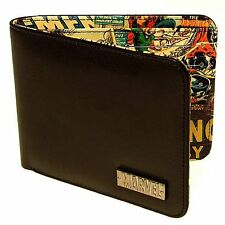 Marvel Comics Retro Collection Men's Interior Comic Book Print Bifold Wallet