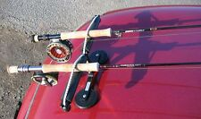 Double MAGNETIC Fishing Rod Racks - fishing rod transport system - Free Shipping