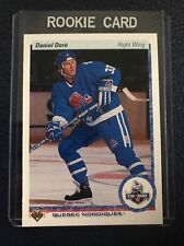 1990-91 Upper Deck #255  Daniel Dore RC Nordiques  NM-MT+  Pack Fresh!