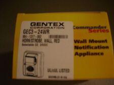 """GENTEX GEC3-24WR (LOT OF 5)  """"NEW"""""""