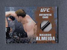 2010 Topps UFC Main Event Cage Relics #CRRA Ricardo Almeida UFC 097