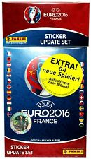 Panini EM EURO France 2016 - Sticker UPDATE Set - 84 Neue Spieler