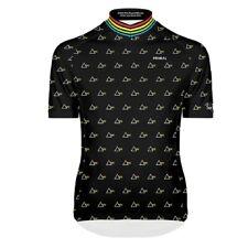 Primal Wear Pink Floyd Prism Pattern Men's Nexas Full Zip SS Cycling Jersey