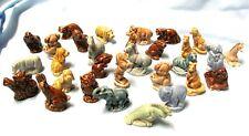 Lot of 30 Vintage Small Wade England Animal Figurines Zoo Farm Circus