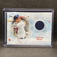 2020 Topps Holiday Austin Riley Game Used Memorabilia Jersey Patch #WHR-AI