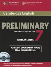 Cambridge English Preliminary 7 Student's Book Pack (Student's Book with Answers