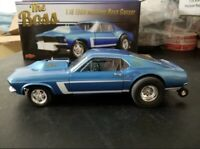 "GMP 1:18 1969 FORD MUSTANG GASSER  429 TWIN TURBO PART #18913.""THE BOSS""! NEW!!"