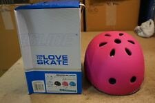 Powerslide Allround Kids Pink Skate Helmet - Md/54-58Cm