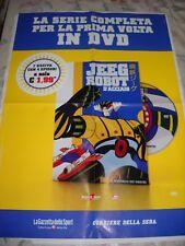 LOCANDINA POSTER MANIFESTO DVD JEEG ROBOT D'ACCIAIO N. 1 cm 48,00 X 66,00 cm !!
