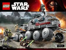 LEGO Star Wars Clone Turbo Tank AT-RT Walker battle broids figures Luminara NEW