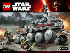 LEGO STAR WARS CLONE TURBO TANK AT-RT WALKER BATTAGLIA broids FIGURE Luminara NUOVO