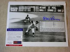 """World Series 1956 """"The Perfect Game"""" Signed Photograph Don Larsen"""