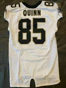 AUTHENTIC 2012 POSSIBLY GAME USED NEW ORLEANS SAINTS RICHARD QUINN JERSEY sz 44